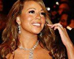 女星瑪麗亞·凱莉(Mariah Carey)身穿黑色禮服高貴動人。(圖/Getty Images)