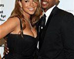 瑪麗亞凱莉(Mariah Carey)與老公尼克·卡農(Nick Canon)電影慶功派對上大秀恩愛。(圖/Getty Images)