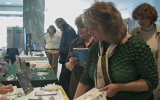 纽约健康博览会 法轮功受欢迎