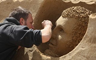第七屆國際沙雕藝術節德國柏林開幕