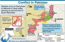 美襲擊巴基斯坦塔利班腹地  數十人喪生
