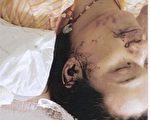 死者尸体,七窍流血。(图:大纪元)