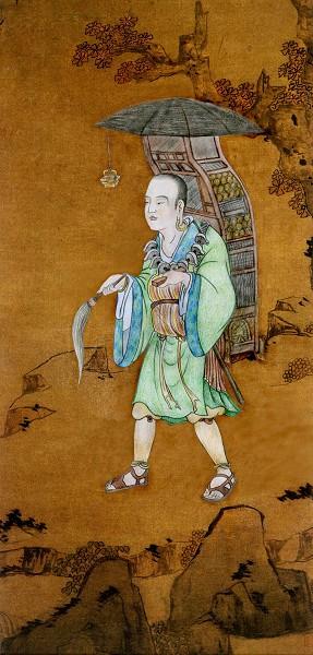 唐僧在交通不發達的古代,冒著生命的危險,憑著一顆赤誠的心和驚人的毅力,歷經死地,孤身行程二萬五千餘里才到達印度(天竺)取得佛經。(大紀元製圖)