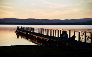 澳大利亞的自然風光  日暮長堤(組圖)