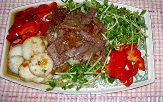 【健康轻食料理】凉拌荸荠茄汁牛肉
