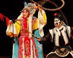 魏海敏(左)将以《昭君出塞》再度征服莫斯。(国光剧团提供)