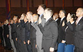 新警员培训班开课 最多元化