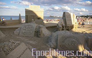 組圖:世界著名的沙雕藝術節