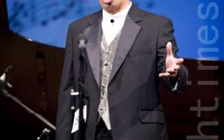 聲樂大賽男聲銅獎獲得者Yicheng Lin