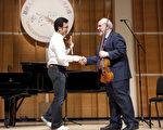 2009 全球華人小提琴大賽大師班 (攝影:愛德華 / 大紀元)