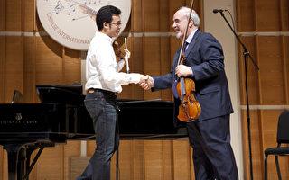 组图:2009全世界华人小提琴大赛大师班