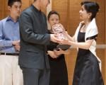 2009全世界華人小提琴大賽銀奬得主林品任  (攝影:愛德華 / 大紀元)