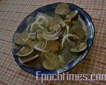 易消化的蛤蛎冬瓜银鱼汤(图:梅芬/大纪元)