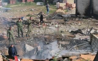 两俄国战机莫斯科郊区撞机坠毁
