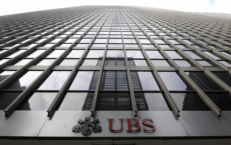瑞士銀行(UBS)。(TIMOTHY A. CLARY/AFP/Getty Images)