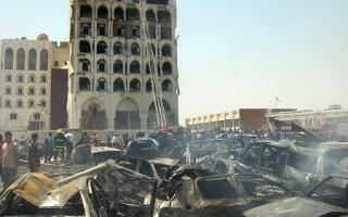 巴格達連環爆炸 死亡升至95人