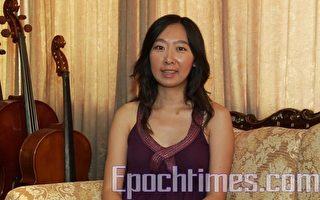 女小提琴家:參賽是提高好機會