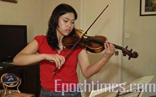 女青小提琴家喜見交流盛事