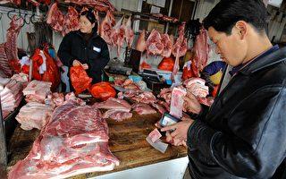 中國豬肉價格連漲80天引通脹憂慮
