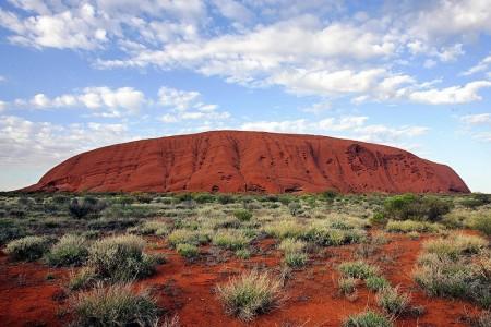 澳洲著名巨岩-乌鲁鲁(Uluru)(Getty Image)