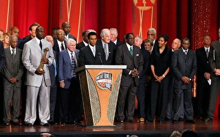 NBA乔丹大帝 风光进入篮球名人堂