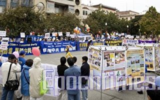 組圖1:舊金山慶祝六千万中華勇士三退