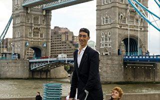 土耳其男子入列金氏世界纪录全球最高男子