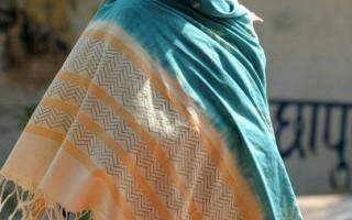 組圖:羅伯茨印度拍戲入鄉隨俗扮當地婦女