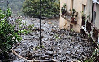 组图:意大利西西里岛土石流24死50失踪