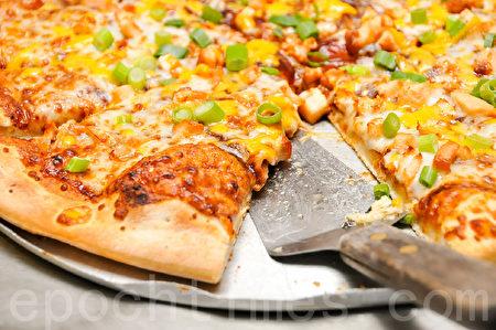 美味披萨饼(摄影:李旭生/大纪元)