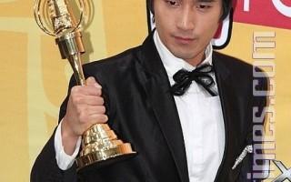 趙又廷獲最佳男主角獎。(攝影:吳柏樺/大紀元)