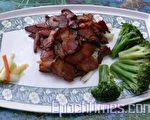 茶叶熏烤腊肉(图:梅芬/大纪元)
