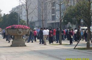 武漢民眾向中央巡視組訴冤情受阻