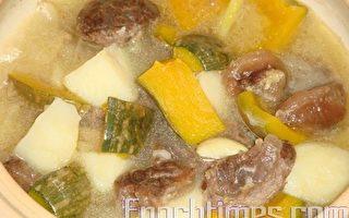 【采秀私房菜】柔嫩带嚼劲的牛腱炖南瓜