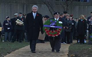 蒙特利爾舉辦大型活動紀念加拿大國殤日