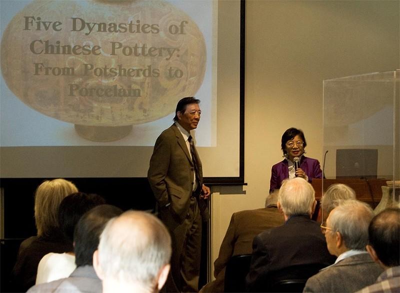 中華歷史博物館展出五朝陶瓷製品