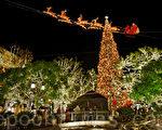 组图:洛杉矶圣诞灯饰