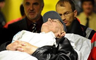 躺着推进法庭 89岁前纳粹警卫受审