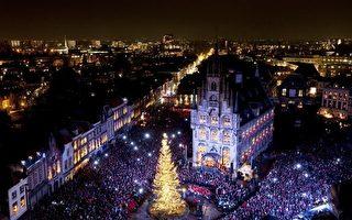 犹如童话世界的荷兰圣诞节