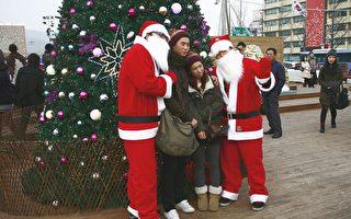 组图:韩国首尔圣诞夜景