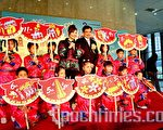 客委會主委黃玉振、藝人郎祖筠,歡迎民眾來參加全年不打烊的「2010客庄12大節慶」,深度體驗文化風情。(攝影:陳霆/大紀元)