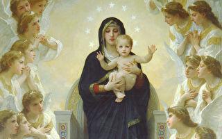 绘画中最美的圣母子形像
