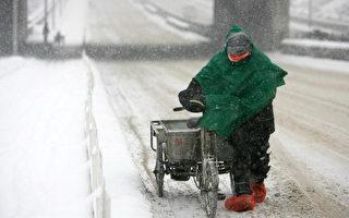 暴雪嚴寒席捲北半球 冰封內蒙列車