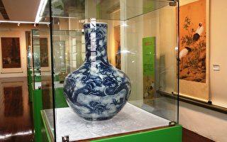 故宮複製文物  年前台中市役所開展