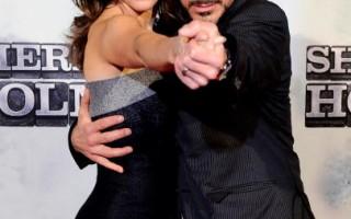 組圖:《福爾摩斯》唐尼與妻子跳探戈搞怪搶鏡