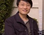 青年华裔作曲家梁雷在美国加州圣地亚哥接受大纪元记者专访。(摄影:杨婕 / 大纪元)