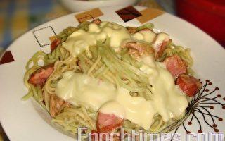 【達人料理】鮪魚菠菜麵