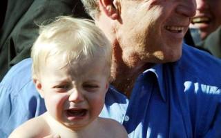 新生兒的哭聲,已能反應出母語的音調。(Mario Tama/Getty Images)