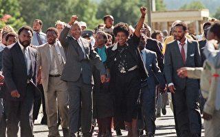 南非歡慶曼德拉獲釋20週年