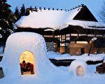 组图:日本雪屋节 打造雪国梦幻世界